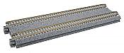 Kato Unitrack 20-012 N Scale - Concrete Tie Double Track Straight - 7-5/16in (186mm) (2/pkg)