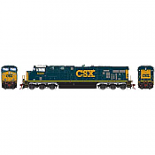 Athearn G83138 HO Scale ES44DC - w/DCC & Sound - CSX #5388 Pre-Order