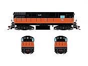Rapido 044507 HO FM H16.44, With Sound & DCC, Milwaukee Road Orange & Black Scheme No.435