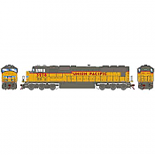Athearn 70626 HO SD70 DCC & Sound Union Pacific /Yellow Ex SP #3978