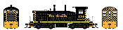 Rapido 27521 HO EMD SW1200 -DC/DCC/Sound - Denver & Rio Grande Western #138 - Pre-order