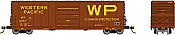 Rapido 139007-C HO Scale - Evans X72A Box car: Western Pacific - Single Car #4056