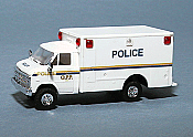 Trident Miniatures Emergency - Police Vehicles - Chevrolet Van w/Box Body Ontario Police OPP
