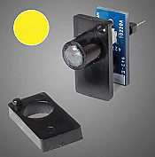 Walthers 155 HO, N, Z, S, O - Walthers Layout Control System - Single Color LED Fascia Indicator (Yellow)