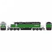 Athearn RTR 72120 HO Scale - SD40-2 - w/DCC & Sound - Burlington Northern #7802
