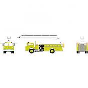 Athearn 91868 - HO RTR Ford C Telesqurt - Safety Green