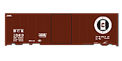 SmokeBox Graphics HO Scale Buffalo Creek ACF 40in Boxcars