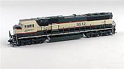 Athearn G64886 HO EMD SD70MAC Phase Vllla w/DCC & Sound, Burlington Northern Santa Fe #9657