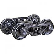 Kadee 565 - HO Bettendorf 50-Ton Self Centering Trucks with 33in Ribbed Back Wheels - HGC (1pair)