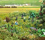 Walthers SceneMaster 1117 HO Overgrown Garden