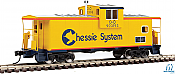 Walthers 8704 HO Mainline International Extended Wide-Vision Caboose -- Chessie C&O 903193