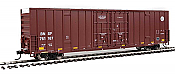 Walthers Mainline 2982 - HO 60ft Hi-Cube Plate F Boxcar - BNSF #761082