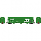Athearn Genesis G15819 - HO ACF 4600 3-Bay Centerflow Hopper - Burlington Northern #481242