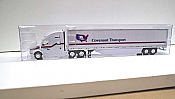 Trucks n Stuff TNS028 - HO Kenworth T680 Sleeper-Cab Tractor - 53ft Dry Van Trailer - Covenant