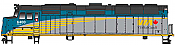 Walthers Mainline 19471 HO Scale - EMD F40PH, ESU Sound and DCC - VIA Rail Canada Renaissance Scheme #6400