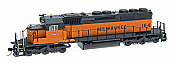 Intermountain Railway Diesel EMD SD40-2 DCC & Sound - Milwaukee Road #164