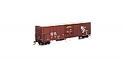 Athearn 72878 - HO RTR 57ft Mechanical Reefer - BNSF Brown #799514