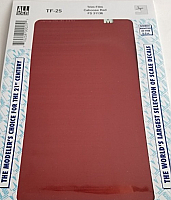 Microscale TF-25 - Trim Film - Caboose Red - FS 31136 4½ in x 7½ inch sheet - Waterslide Decal