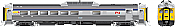 Rapido 16155 HO RDC 2 - DC/Silent- VIA Rail (Blue Stripe)(Phase ll) #6205