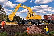 Walthers 11014 HO SceneMaster Hi-Rail Excavator Kit