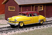 Sylvan Scale Models 07 HO Scale - TH&B 1951 Chrysler Inspection Car #1 - Unpainted and Resin Cast Kit