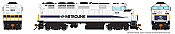 Rapido 19518 - HO GMD F59PH - DCC/Sound - Metrolink #868