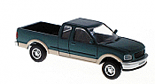 Atlas HO 1247 1997 Ford F-150 Pickup Truck - Green/Tan