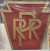 Stoddarts Ltd. PRR - 3D Railroad Wall Artwork - Pennsylvania RR Logo