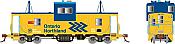 Rapido 110142 HO - Angus Van: Ontario Northland - Chevron #122