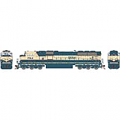 Athearn Genesis G64908 HO Scale - SD70MAC Diesel, w/ DCC & Sound - PRLX #9554