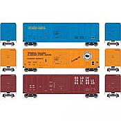 Athearn RTR 28735 - HO 50ft PS 5344 Boxcar - CCR/TASD/GTRA (3pk)