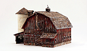 Woodland Scenics 5038 HO Built-&-Ready Landmark Assembled Structure Old Weathered Barn