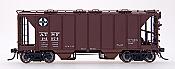 Intermountain 48671-12 HO 1958 Cu Ft 2 Bay Covered  Hopper- Closed Sides - ATSF #181974