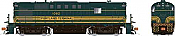 Rapido 31571 HO - Alco RS-11, 2nd Run - Diesel Locomotive - DCC & Sound - Portland Terminal - Pine Tree #1082