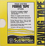 Woodland Scenics 1455 SubTerrain System Foam Accessories - Road System Paving Tape