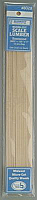Midwest Products 8028 - Micro-Cut Scale Lumber - Basswood (12/pkg)
