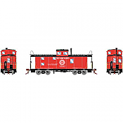 Athearn Genesis 78591 - HO ICC Caboose w/Lights - DCC & Sound - Seaboard #5663