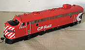 Rapido Trains 222018 - HO GMD FP7 - DC/Silent - CP Rail Action Red (8 in Stripes) #1424
