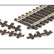 Micro Engineering 26084 - HO Code 83 Plastic Insulated Rail Joiners (12/pkg)