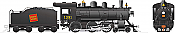 Rapido 603507 HO H-6-d Canadian National Railway #1391 DC/DCC/Sound Pre-Order coming 2020