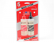 Bob Smith Industires 202- Quick-Cure 5 Minute Epoxy (9oz)