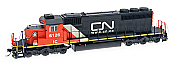 Intermountain Railway Diesel EMD SD40-2 DCC & Sound Canadian National IC #6107