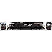 Athearn Genesis 70519 HO - SD70M, DCC Ready - NS/Flare w/ PTC #2596