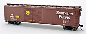 Bowser HO 50Ft 4 Door Boxcar Southern Pacific No.606577