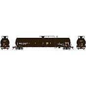 Athearn G25656 - HO RTR 33,900 Gallon LPG Tank/ Late - GBRX #704997