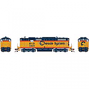 Athearn Genesis G82307 HO Scale - GP7 Diesel, w/ DCC & Sound - C&O/ Chessie #5841