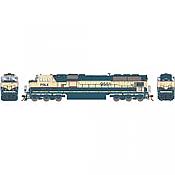 Athearn Genesis G64907 HO Scale - SD70MAC Diesel, w/ DCC & Sound - PRLX #9551