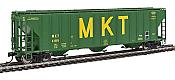 Walthers Proto 106165 - HO 55Ft Evans 4780 Covered Hopper - Missouri Kansas Texas (MKT) #4185