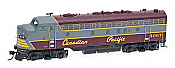 Intermountain Railway EMD FP7A DCC & Sound Canadian Pacific #4072