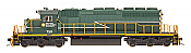 Intermountain Railway 49351S-03 HO EMD SD40-2 w/DCC  & Sound ESU  - British Columbia Railway #759